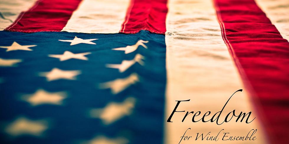 """Freedom"" Consortium Premiere - IUP Symphony Band"