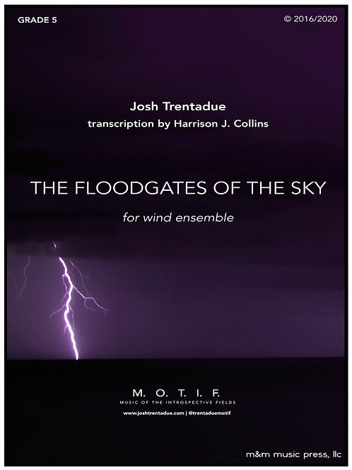 The Floodgates of the Sky (Band) - Trentadue, trans. Collins