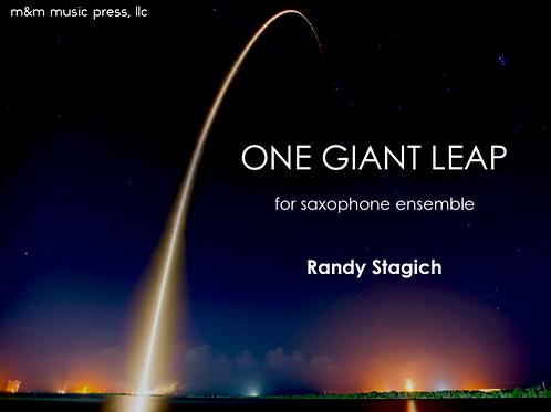 One Giant Leap (Saxophone Ensemble) - Stagich
