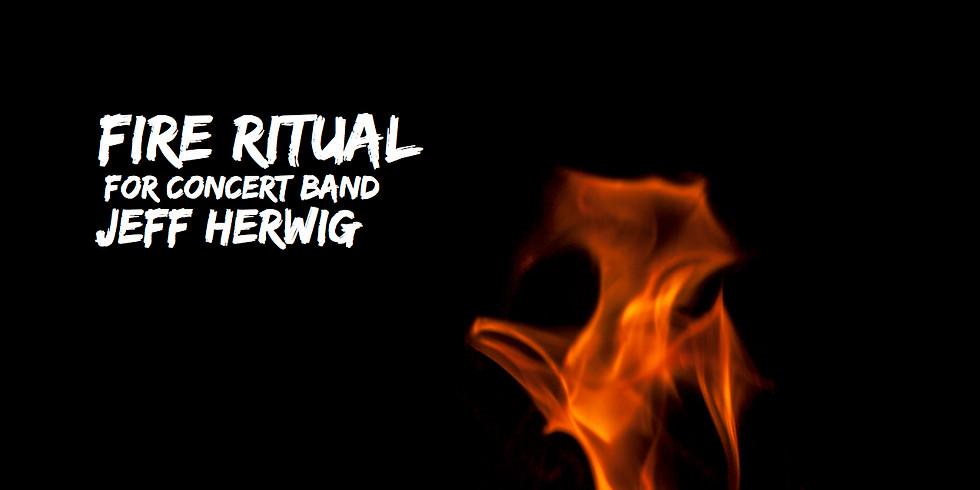 """Fire Ritual"" Premiere - Neshannock High School Band"
