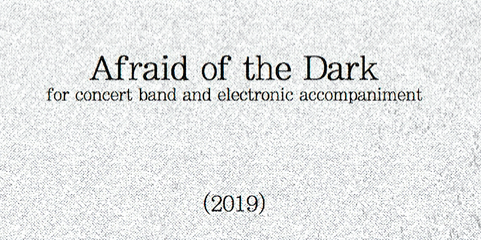 """""""Afraid of the Dark"""" - BLMS Band"""