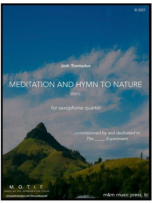 Meditation and Hymn to Nature (Sax Quartet) - Trentadue