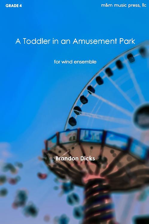 A Toddler in an Amusement Park - Dicks