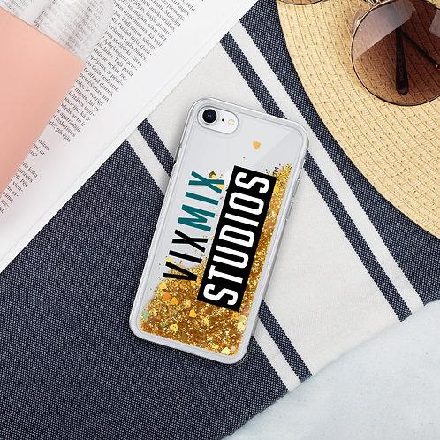 VixMix Liquid Glitter Phone Case