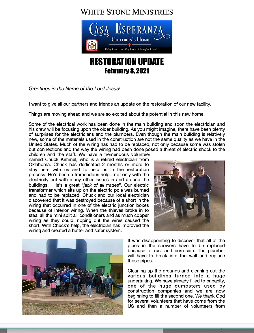 Restoration Update Feb - pg1.png