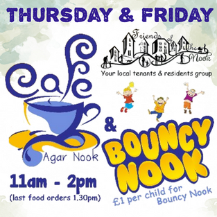 Community Cafe and Bouncy Nook