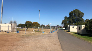 """""""It's Started """" - Construction of the new Grandstand for SRC begins !"""