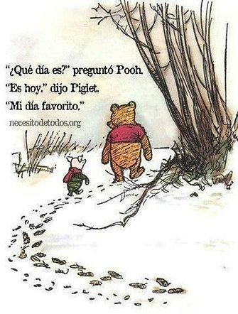 Mi día favorito Winnie-the-Pooh