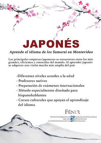 Curso de japonés Instituto Fénix