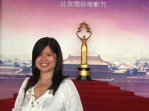 Yufei en el Festival Internacional de Cine en Beijing