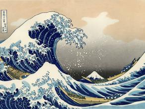 Hokusai y el dibujo Manga