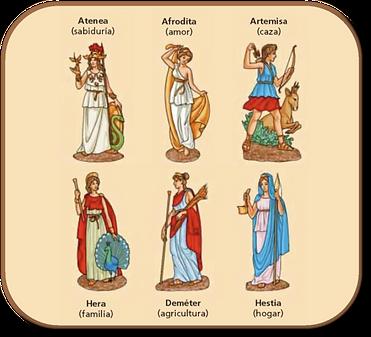 diosa de la mitología griega