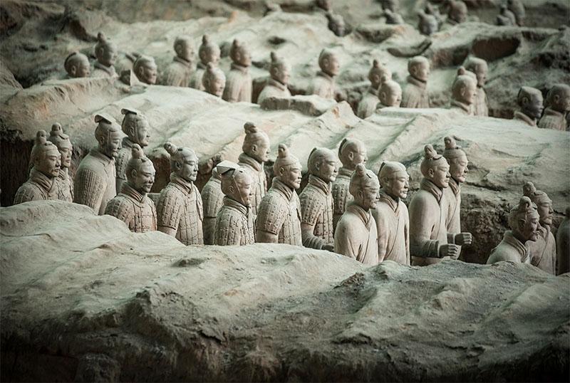 guerreros de terracota - ruta de la seda