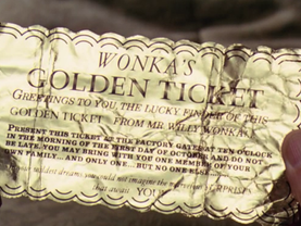 Golden Ticket Mum