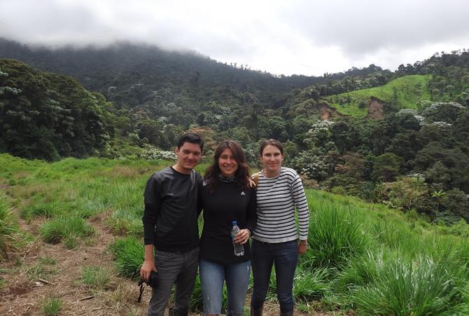Visita de Francia Voluntarios : proyecto de preservación y de estudio en la región de Imbabura.