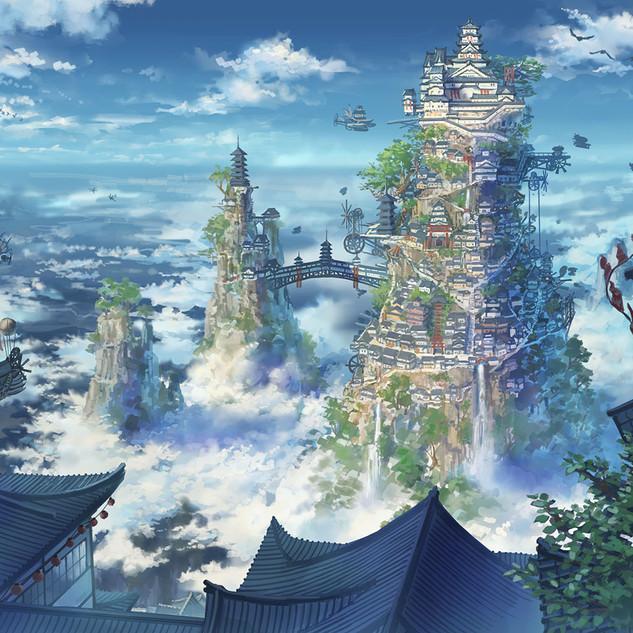 天の城下町