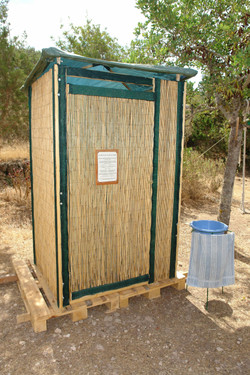 Compost toilet for rent