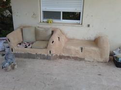 Mud bench