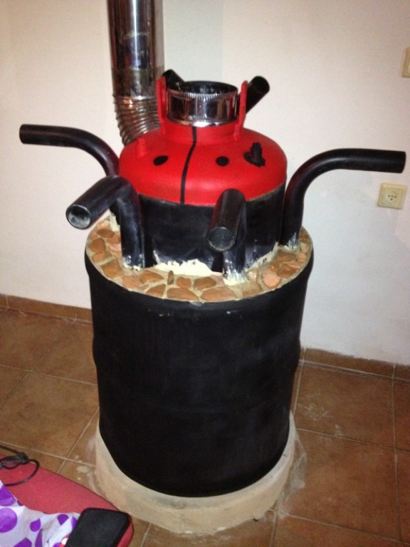 the beatle rocket oven
