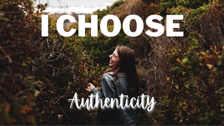 Authenticity - It's ok to be yourself!