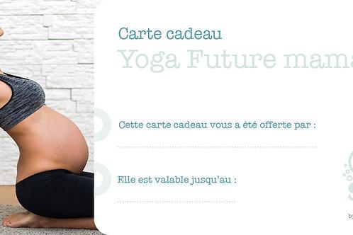 """Carte cadeau """"Yoga future maman"""""""