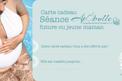 """Carte cadeau """"ApÔbulle"""" future/jeune maman"""