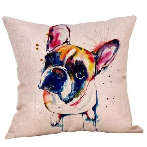 French Bulldog Cushion Cover