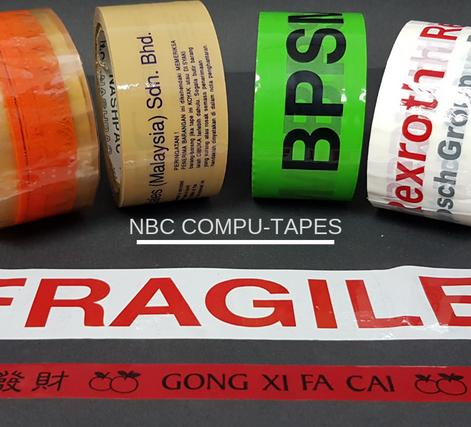 NBC Printed Opp Tape