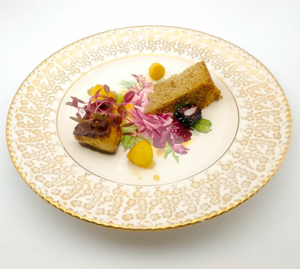Foie Gras & Banana Cordon Bleu