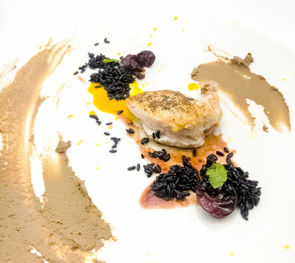 Roasted Cornish Hen & Liver Pâté
