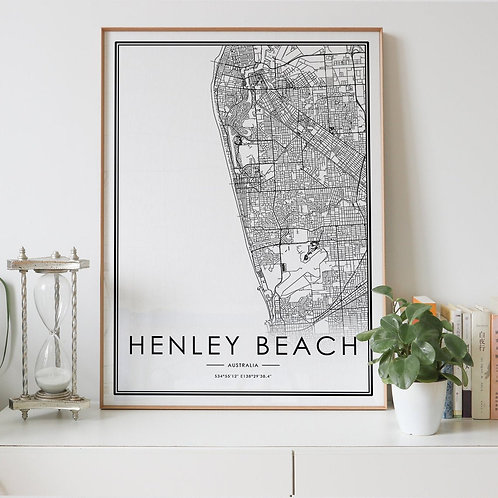 Henley Beach City Map