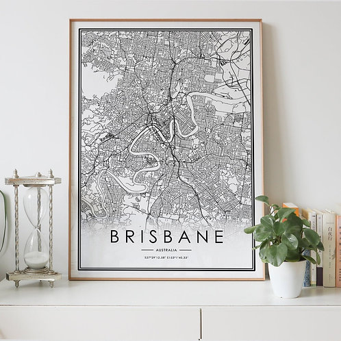 Brisbane City Map