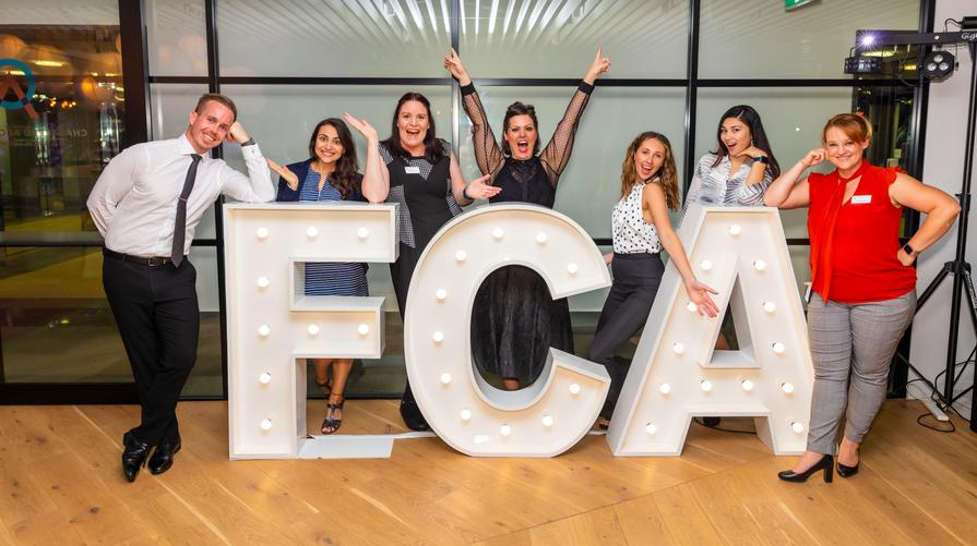 FCA awards evening