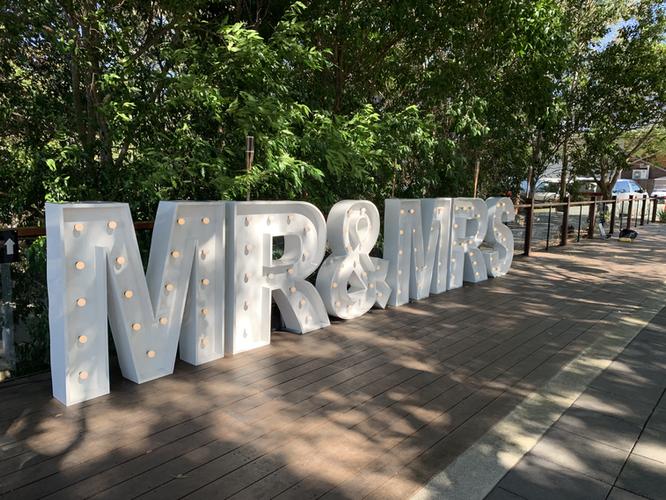 Light up 'MR&MRS' at Sirromet Winery
