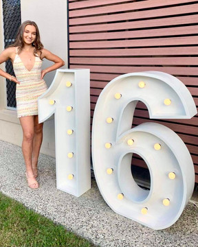 Light up 16 at a home function