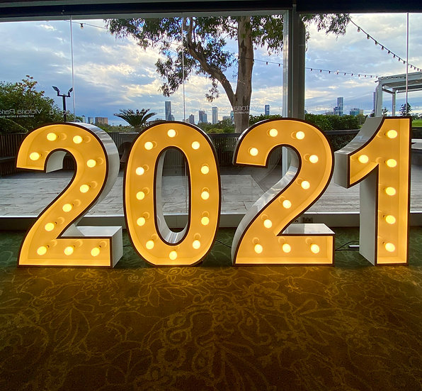 2021 - Light up numbers