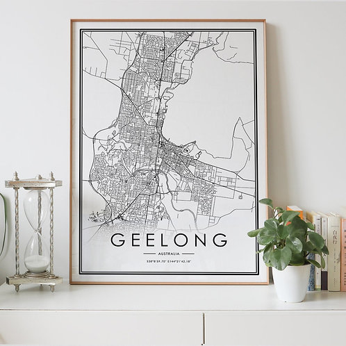 Geelong City Map