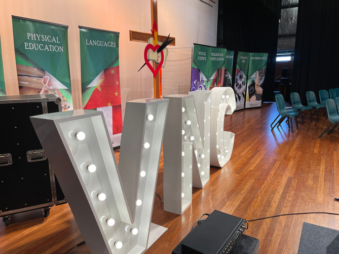VNC School Initials for Award Evening