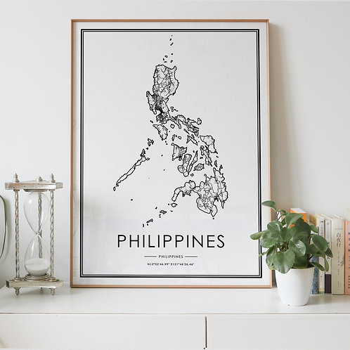 Philippines Country Map