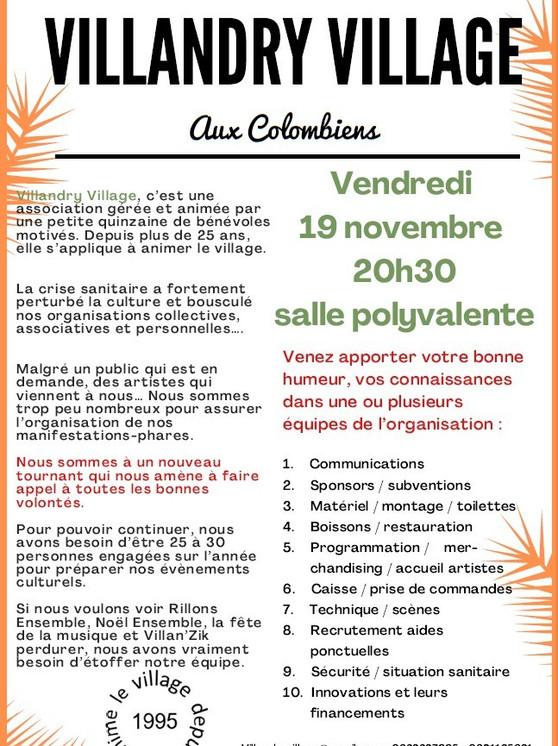 19/11/2021 AG Extraordinaire