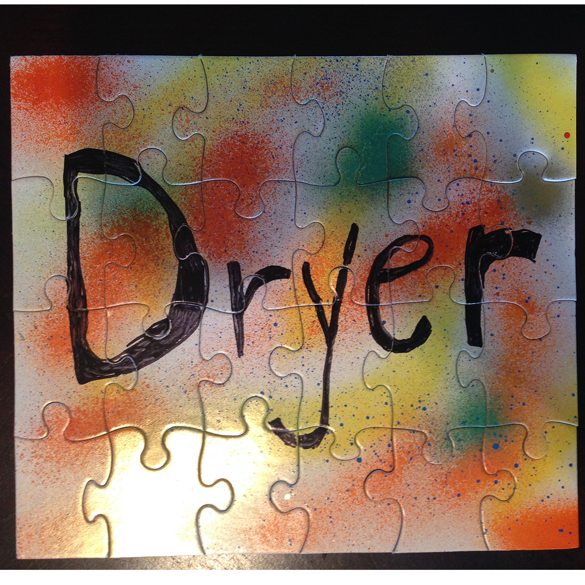 Dryer puzzle