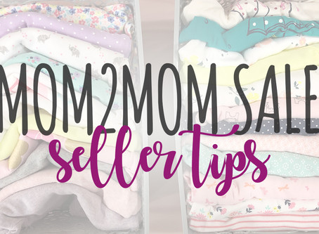 Mom2Mom Seller Tips