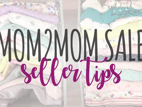 Mom2Mom Seller Tips