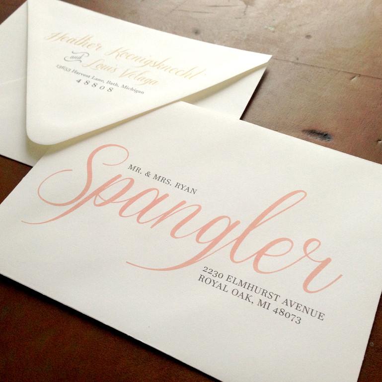 Custom Envelope Design
