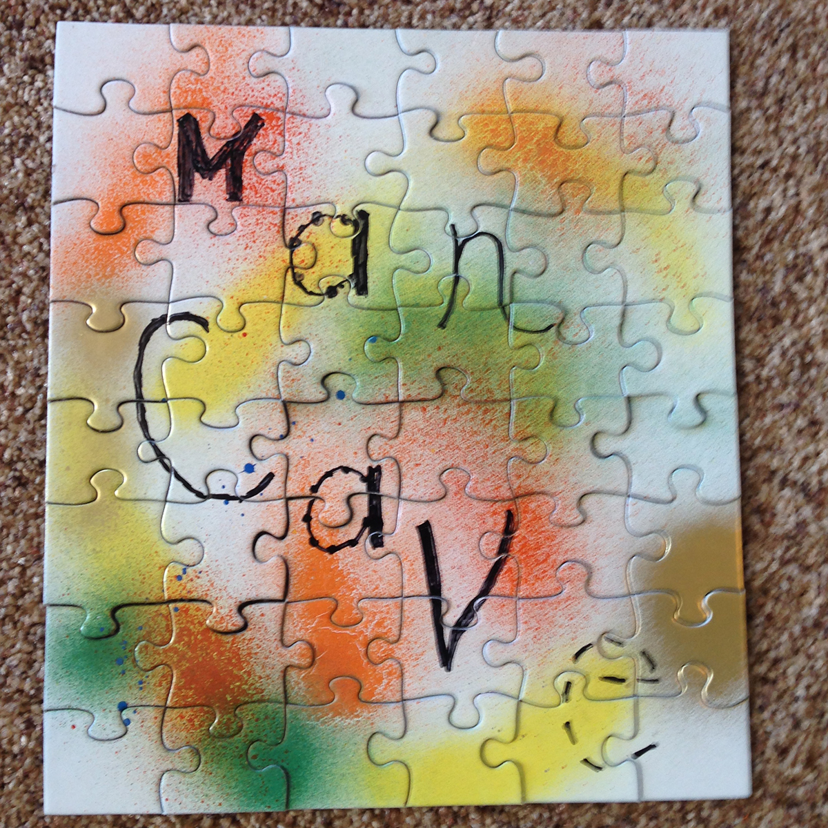 Man Cave Puzzle