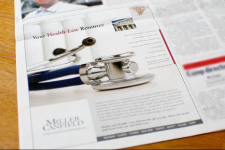 Business Magazine Ad