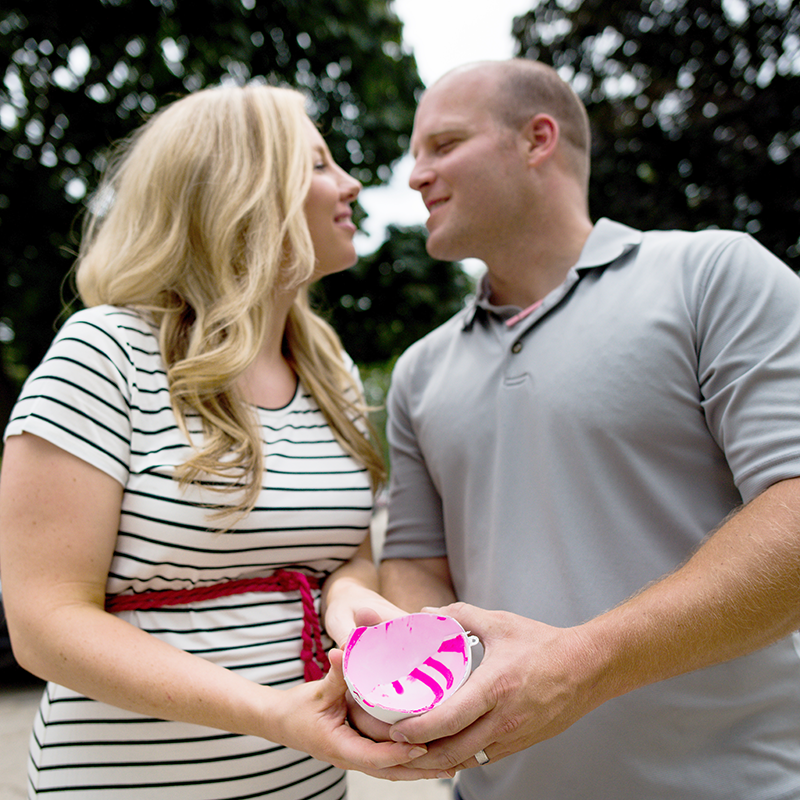 Gender Reveal: With our Ball