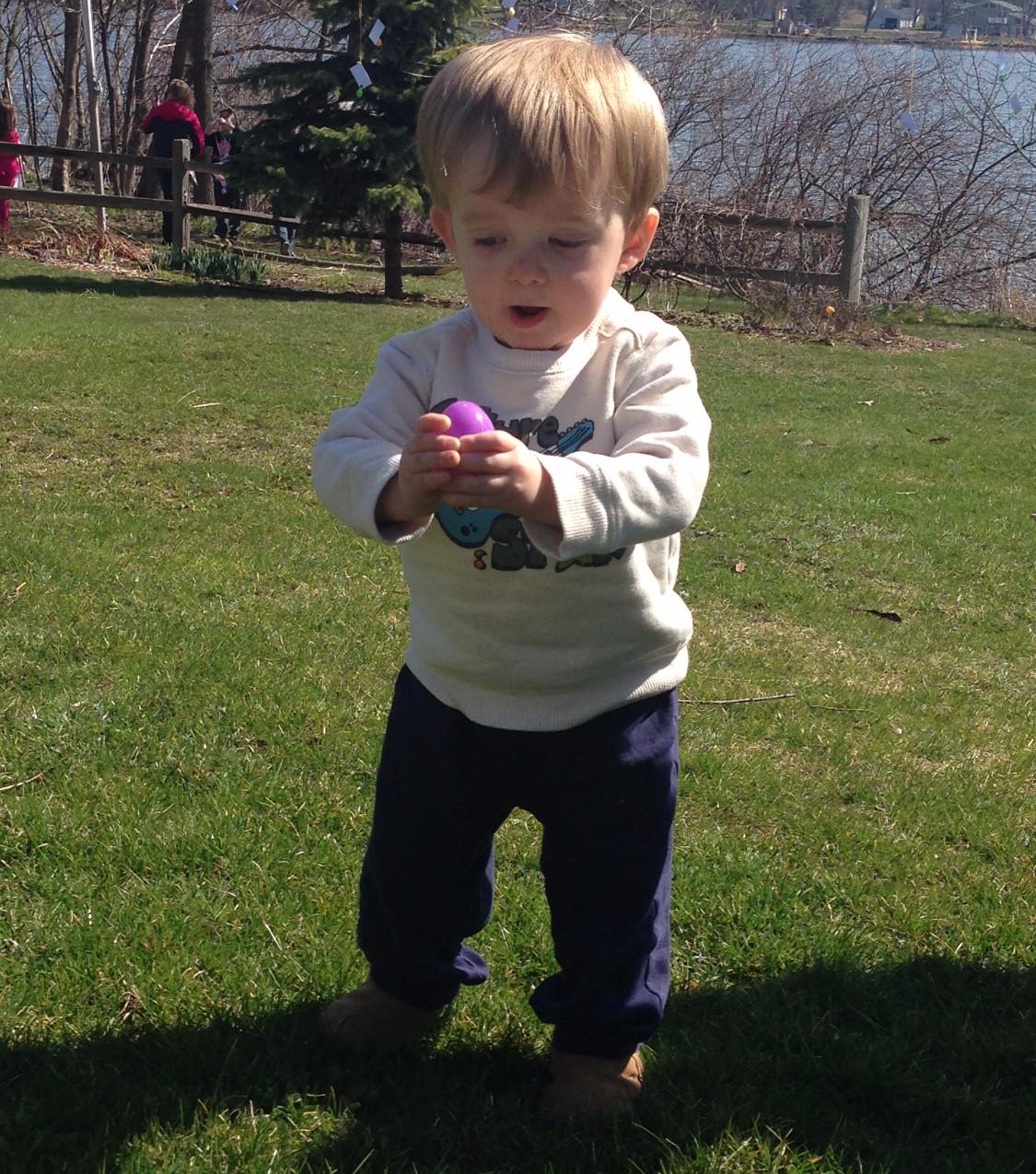 Finn Egg Hunting