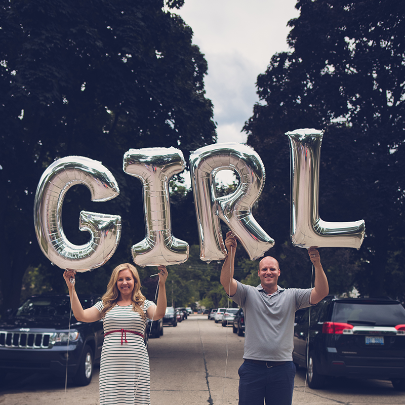Gender Reveal: It's a Girl!