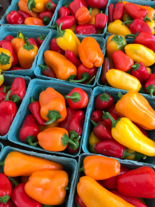 Peppers, Sweet (Lunchbox Snacking, pint)